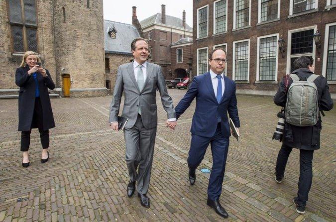 NETHERLANDS-SOLIDARITY-ACTION-DISCRIMINATION
