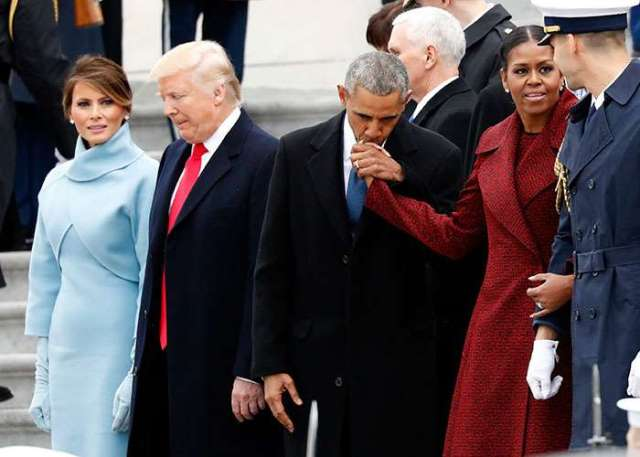 Michelle Obama reveals REAL reason she 'side-eyed_ Trump at his inauguration 3