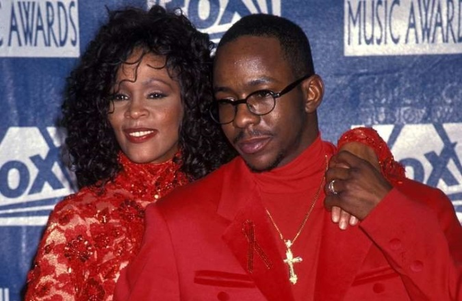 Whitney Houston Took Drugs To 'Go Down To Bobby Brown's Level,' Claims Her Longtime Bodyguard